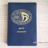قابل للاستعمال تكرارا بلاستيك [بفك] جواز سفر تغطية [إيد] [بدج هولدر] مع نوع ذهب علامة تجاريّة