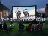 膨脹可能な映画スクリーン