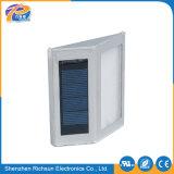 La galvanoplastie aluminium mur de LED LED de plein air lumière solaire