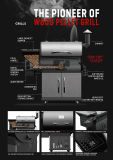 최신 판매 흡연자 BBQ (SHJ-700C)