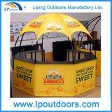 携帯用イベントブースのテントの屋外の六角形の表示ドームのテント