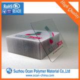 Impressão de alta qualidade fina espessura 0,4mm Fosco Folha de PVC para cartões de visita