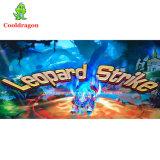 2017 juegos de vector de juego del juego de la pesca de la huelga del leopardo del juego de arcada del cazador de los pescados