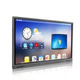 Riotouch 65 75 86 pouces LCD 4K Android l'éducation de l'équipement infrarouge USB multi moniteur à écran tactile du panneau interactif
