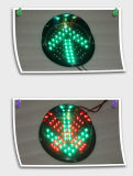 Сделайте светофор водостотьким модуля СИД сигнала стрелки 200mm