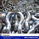 SchraubeG209 pin-Anker-Fessel/wir Typ Absinken schmiedeten die galvanisierte Bogen-Fessel