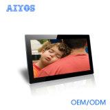 Aiyos proporciona a Slideshow a la vista del vídeo musical del MP3 del soporte del marco del ángulo de la alta calidad HD