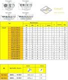 표준 맷돌로 가는 공구와 일치하는 강철 Hardmetal를 위한 Cutoutil 삽입 Fma07-050-A22-On06-05