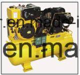 Diesel, Benzin-Motor oder elektrischer Luftverdichter 50L, 100L, 150L