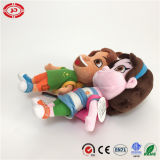 École Enfants Happy Embroidered Feature with Schoolbag Cute Plush Doll