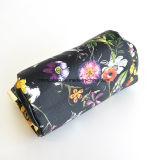 Цветок замка поцелуя печатает мешок портмона косметик женщин PVC