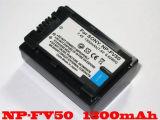 Расшифрованная NP-FV50 батарея камкордера для Сони Fv70 Fv100 Cx550/E Xr550/E