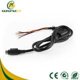 Kundenspezifisches Barcode-Scanner Positions-Terminalregistrierkasse-Daten-Energie USB-Kabel