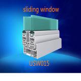 일반적인 백색 색깔 두 배 격리 유리 UPVC 슬라이딩 윈도우