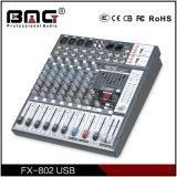 Bmg профессиональной серии Fx 6/8/12/16 каналов звуковой микшер микшерную консоль с двойной USB-доступ