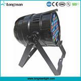 단계를 위한 실내 48PCS 3W RGBW LED 동위 64 빛