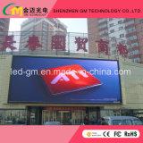 Llevó la publicidad comercial, materiales para exteriores, Pantalla LED, P8, USD520/M2