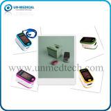 Oxímetro pequeno do pulso do dedo do indicador de diodo emissor de luz do tamanho para o cuidado da família