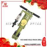 Máquina del taladro de roca del asimiento de la mano (Y26)