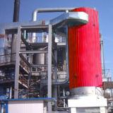 Calentador flúido termal vertical
