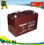 Bateria acidificada ao chumbo do AGM da bateria solar da alta qualidade 100ah 12V