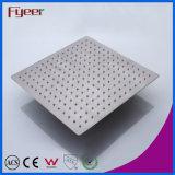 Fyeer 12 Polegadas Chuveiro escovado ultrafinas sobrecarga LED Chuveiro