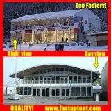 Fabriqué en Chine Arch haut en PVC Double Decker tente de renom du restaurant