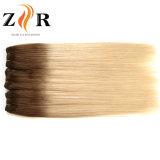De lichte Inslag van het Menselijke Haar van het Haar van de Kleur Dubbel Getrokken Mongoolse