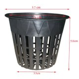 "Non-Toxic Environmentally Friendly Mesh Pot Flower Pot Net Pot 2 ""/ 3"" /3.75 ""/ 5"" / 6 """