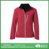 Vestuário desportivo feminino personalizado Casaco softshell de lazer