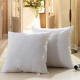 Decoratieve Hoofdkussen van de Vezel Siliconized van het huis het Textiel Witte