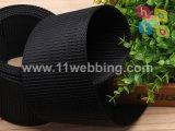 Correa de nylon de alta tenacidad 40 mm negro tanque para cinturón militar