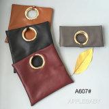 Sacchetto di cuoio Hcy#A607 dell'unità di elaborazione del metallo della maniglia delle signore della borsa di frizione del sacchetto di stile popolare popolare di modo