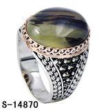 Anello d'argento degli uomini dei monili dei monili 925 di modo