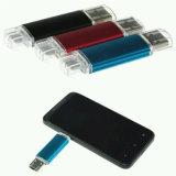 4-64Гб Логотип мобильный телефон с двумя OTG флэш-накопитель USB