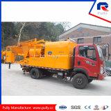 Petit pompe montée de mélangeur concret de centrale de malaxage par camion concret mobile (JBC40)