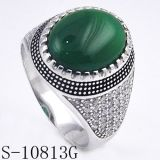 De unieke Ring Hotsale van de Mens van de Juwelen van het Ontwerp Zilveren