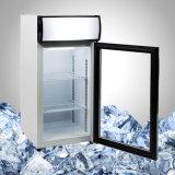 Короткий чистосердечный замораживатель с стеклянной дверью