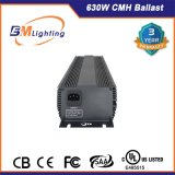 Il doppio idroponico della reattanza di watt CMH di vendita calda 630 ha concluso la lampada