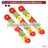 Blume Scruchies elastisches Haar-Schmucksache-Haar-spinnende Partei-Felder (P3041)