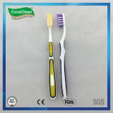 Escova de dentes de cabeça angular Fresh up com cerdas de nylon