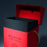 Tela de impresión personalizada de impresión de regalo Hot Stamping Cajas de la tarjeta de papel