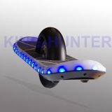 Patín eléctrico con la sola vespa del balance de la rueda del motor uno del eje
