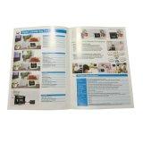 Impressão feita sob encomenda profissional do catálogo de produto do papel revestido