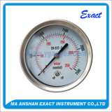 스테인리스 압력 측정하 Mbar 압력 측정하 최소한 압력 시험 계기