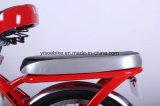 26インチフレームの隠された電池が付いている電気都市バイク