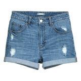 Хлопок/поли приспособленная краткость джинсовой ткани 8oz