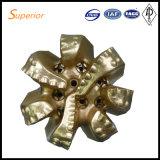 Morceau de PDC avec 7 ailes de matériel Drilling de la Chine
