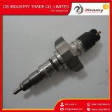 Injetor Diesel 2855135 da máquina escavadora do caso, injetor 0445120075 de Bosch, injetor de combustível 5801382396 de Iveco
