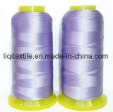 filato cucirino della tessile del ricamo del poliestere 120d/2 di 100%